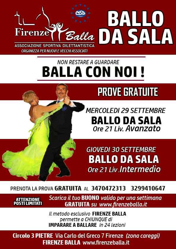 BALLO DA SALA LISCIO UNIFICATO