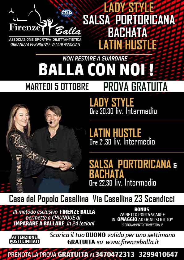LADY STYLE BACHATA SALSA PORTORICANA LATIN HUSTLE