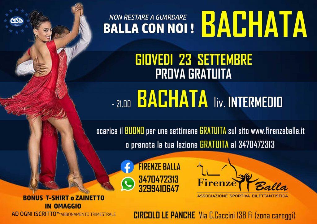 BACHATA liv INTERMEDIO GIOVEDI ORE 21